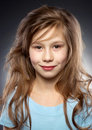 Pretty smiling girl portraite Royalty Free Stock Image