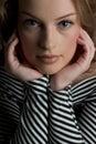 Pretty in Stripe Royalty Free Stock Photo