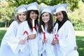 Pretty Teens at Graduation