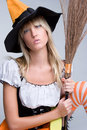 Pretty Witch Royalty Free Stock Images