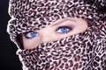 Pretty woman eyes Royalty Free Stock Photo