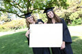 Pretty Women at Graduation Royalty Free Stock Photo