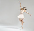 Pretty and young ballet dancer Royalty Free Stock Photo