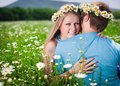 Pretty young couple Royalty Free Stock Photo
