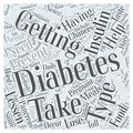 Preventing Diabetes after having Gestational Diabetes word cloud concept background Royalty Free Stock Photo
