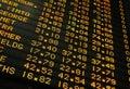 Prezzi delle azioni Immagini Stock Libere da Diritti
