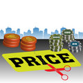 Price cut Stock Images
