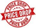 price drop stamp