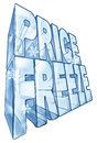 Price freeze sale illustration Stock Image