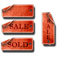 Price tags Royalty Free Stock Photo