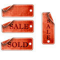 Price tags Royalty Free Stock Images