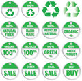 Price Tags;Environmental Royalty Free Stock Image