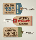 Price tags tag sale tag templates design Royalty Free Stock Image