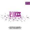 Prices, destroyed letters 3D best discounts