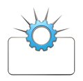 Prickles gear wheel Royalty Free Stock Photo
