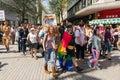 Pride parade birmingham Arkivbild