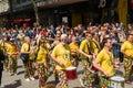 Pride parade birmingham Arkivbilder