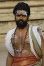 Priest at Menakshi Temple Madurai