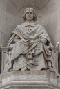 Priest monument stone male Royalty Free Stock Images