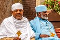 Priests in front of st george s cathedral addis ababa ethiopia march addis ababa orthodox church Stock Photos