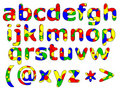 Primary Alphabet Series Royalty Free Stock Photography