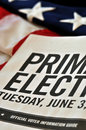Primary Election Royalty Free Stock Photography