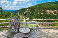 Primary overlook at cloudland canyon state park in georgia Royalty Free Stock Photos