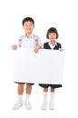 Primary school students Royalty Free Stock Photo
