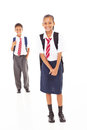 Primary students Stock Photography