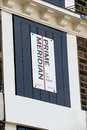 Prime meridian the in greenwich Stock Photos