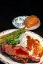 Prime Rib Dinner Royalty Free Stock Photo