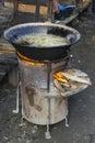 Primitive kitchen Royalty Free Stock Photo