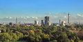 Primrose hill panorama Royalty Free Stock Photo