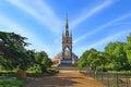 Prince Albert Memorial, Hyde Park area, London, UK Royalty Free Stock Photo