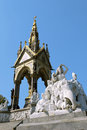 Prince Albert Memorial, London Stock Images