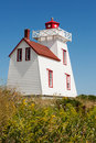 Prince Edward Island lighthouse Stock Images
