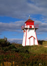 Prince Edward Island Lighthouse Royalty Free Stock Photos