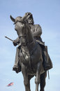 Prince George, Duke of Cambridge statue Royalty Free Stock Photos