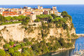 Prince s palace in monaco aerial view of the Royalty Free Stock Photos
