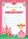 Princess Birthday Party Royalty Free Stock Photo