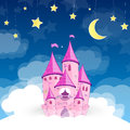 Princess castle Stock Photography