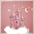 Princess castle Royalty Free Stock Images