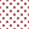 Princess castle pattern seamless