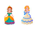 Princess character vector illustration.