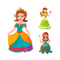 Princess character vectorillustration.