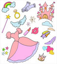 Princess collection Royalty Free Stock Image