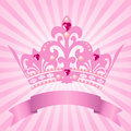 Princess crown Stock Image