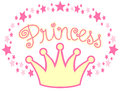 Princess Crown/eps Royalty Free Stock Photography
