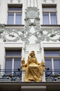 Princess Libuse statue Prague Stock Images