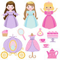 Princess party Stock Images